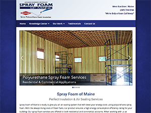 Spray Foam of Maine